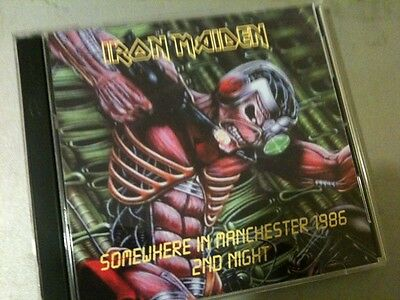Iron Maiden Double CD Manchester England 2nd Night Somewhere In Time Tour 1986