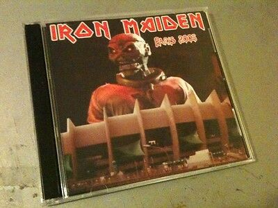 Iron Maiden Double CD Paris France The Early Days Tour 2005