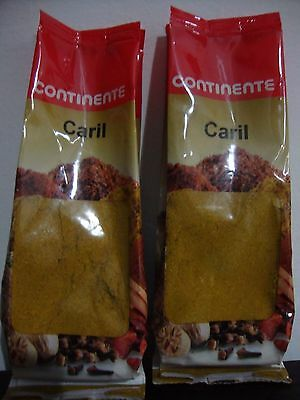 2 SEALED BAGS OF GROUND CURRY FROM PORTUGAL** 3,52 OZ / 100 GR (overall) **