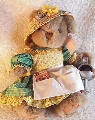 RUSS IRIS MOTHER NATURE COLLECTION Teddy Bear Stuffed Plush Doll