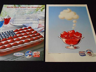 COOL WHIP magazineads lot * recipes
