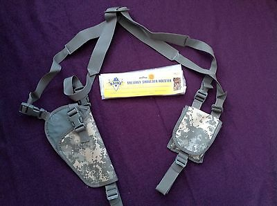 Raine Military Shoulder Holster Right-Handed Airsoft, Paintball, Shooting Sports