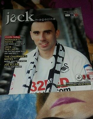 Swansea City V Leyton Orient 29Th January 2011 Fa Cup Round Four
