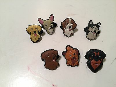 Shoe Doodle Shoe Charms lot of 7 different dogs