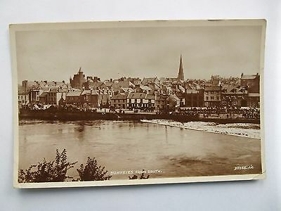 DUMFRIES - DUMFRIES FROM THE SOUTH - WHITESANDS EARLY 1900s