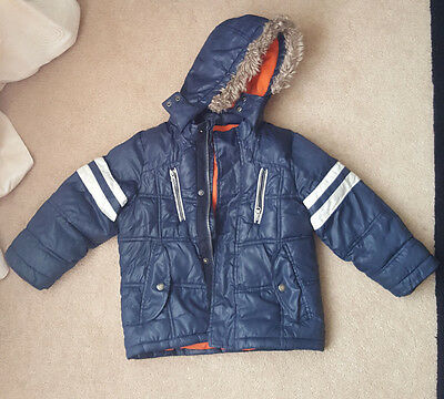 MARKS AND SPENCER  Children coat  2-3YEARS NAVY