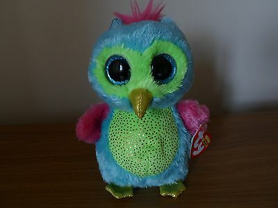 Ty Beanie Boos Boo Opal Owl (USA Justice store exclusive)