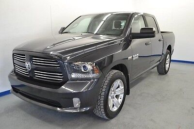 2014 Ram 1500 Sport Crew Cab Pickup 4-Door CLEAN CAR FAX 1 OWNER NON SMOKER NAVIGATION SUNROOF