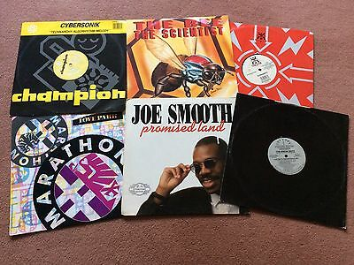 "90's / hardcore / Rave /vinyl Joblot / 6 Classic 12"" vinyl records /""LOOK"""