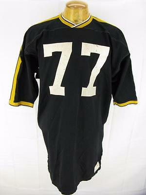 Mens Vintage 1970's  Russell Southern Durene Game Football Jersey Shirt 44