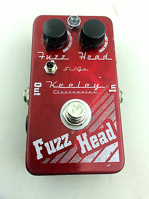 Keeley Effect Pedal Fuzz Head USA Overdrive Distortion