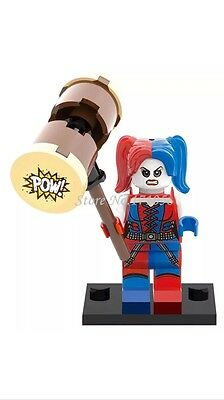 Harley Quinn Suicide Squad DC minifigure fits Lego