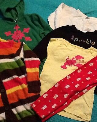 Girls Gymboree Size 4T Lot With 1 5t