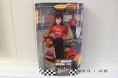 New Mattel Barbie Doll Never Opened Nascar Official #94 22954 Vintage Collectors