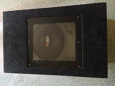 """Car 10"""" Passive Subwoofer Box Fitted With JBL Speaker 1000 Watts"""