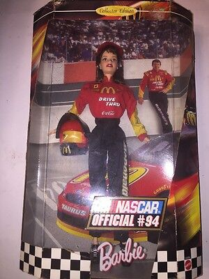 NASCAR Official #94 Collector Edition Barbie Doll 1999 New In Box