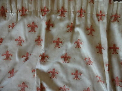 """Tape Top Lined Curtains 110"""" x 60"""""""