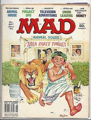 MAD Animal House JUNE 1979 # 207 in good shape.
