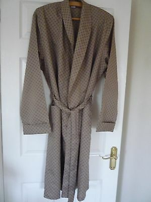 Gentleman's Vintage TOOTAL  Dressing Gown - Size Large