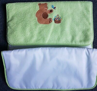 EMBROIDED Baby Nappy Change Mat - Waterproof Washable