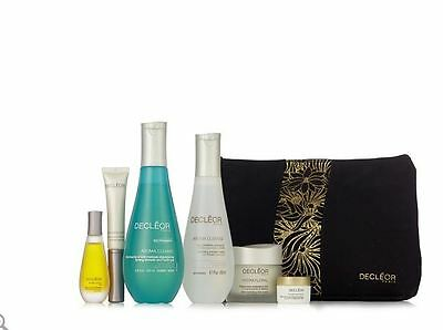 BNIB Decleor 6 Piece Anti-Ageing Radiant Skincare Collection & Bag Magnolia