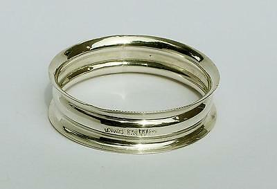 EDWARDIAN Sterling Silver NAPKIN RING Chester 1905