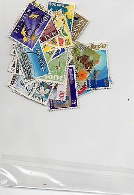 Selection of Stamps of Malaysia