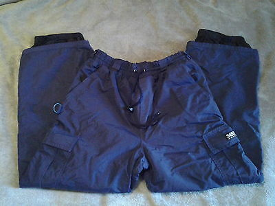 Kids Size Large, Sessions Outerwear, Dark Blue, Snow/Ski Pants