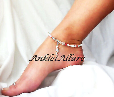 Seahorse Body Jewelry Rose Anklet Beach Ankle Bracelet Cruise Vacation Jewelry