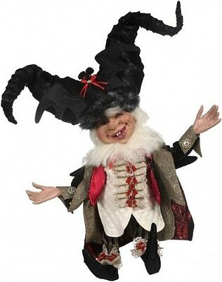 Mark Roberts 2016 Halloween DRACULA ELF Doll Figurine - New in Box