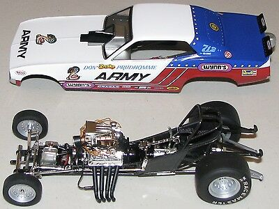 """""""THE FLOPPERS"""" Don Prudhomme """"Army Car"""" 1:24 Scale Die-Cast Funny Car"""