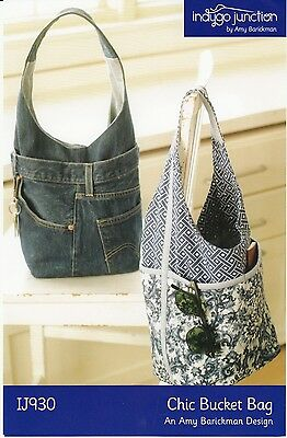 CHIC BUCKET BAG SEWING PATTERN, From Indygo Junction NEW