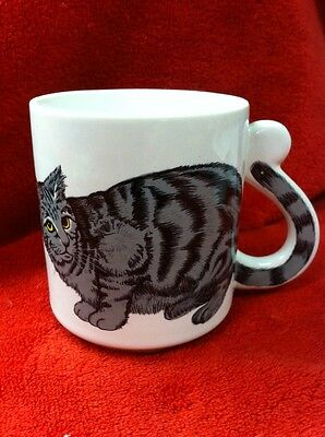 Vintage Cat Coffe  Mug by Interpur