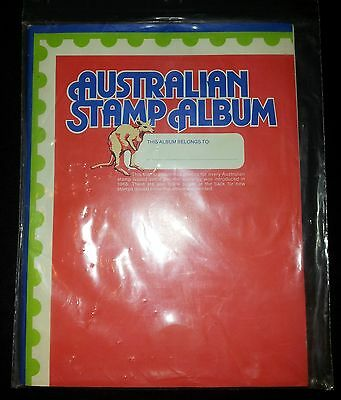 Aust Stamp Album: Vintage as New in Plastic:Spaces For Decimal Issues 1966-1978