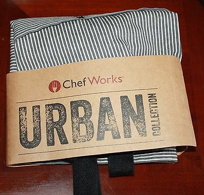 Chef Works Urban Collection Waist Apron AW050-BLK