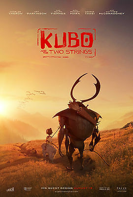 """Kubo and the Two Strings  :2016  Movie 27""""x40"""" HI-RES POSTER VINYL # A"""