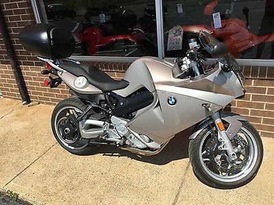 2009 BMW F-Series  2009 BMW F800ST ABS with Trunk Champagne Local Trade Nice Bike