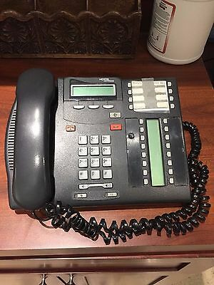 Nortel T7316e Lot of 16 Offics Phone with Stands & Handsets