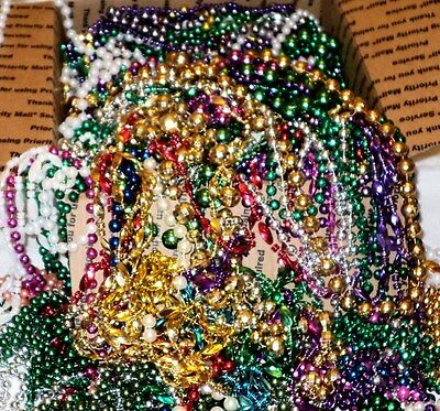 15 Pounds of LONG New Orleans Mardi Gras Party Beads (95)