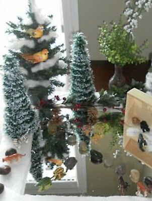 "Christmas Fun Distortion Mirror  - ice display w reflection  24"" by 54"" -1 piece"