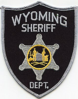 Wyoming County West Virginia Wv Sheriff Police Patch