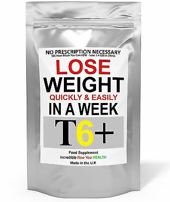 T6+ Very Strong Slimming Weight Loss Tablets Extreme Legal Fat Burner Diet Pills