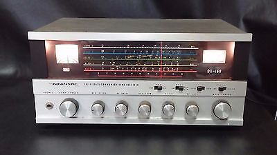 Realistic Model DX-160 Solid State AM, Short Wave, & Ham Communications Receiver