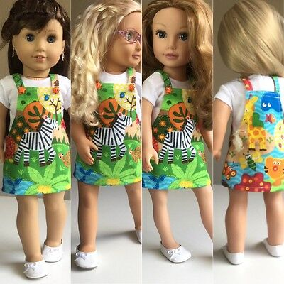 """Fit American Girl Our Generation Gotz Journey  18"""" Inch Doll Clothes + Shoes ONL"""