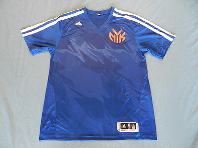 Earl Clark 2013-14 New York Knicks game used shooting shirt