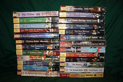 Lot of 25 used Harlequin Super Romance Books