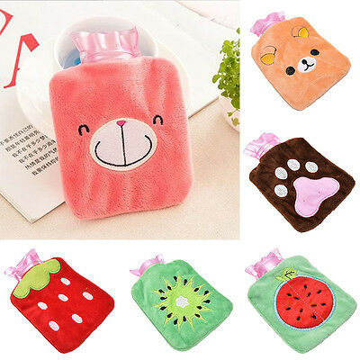 Hot Water Bottle Bag Warm Relaxing Heat&Cold Home Necessary Outdoor Rubber New