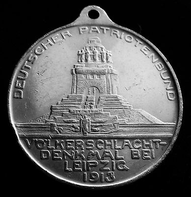 Pre Ww1 German 1813 - 1913 Germany Leipzig Victory Volkerschlacht Medal Silver ?