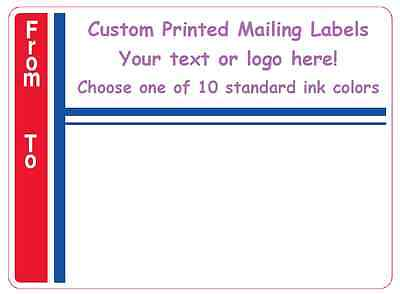 custom labels personalized stickers shipping address business office