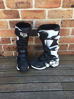 Youth Fox Comp 5 Boots-Black